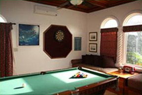 Villa Kismet Billiard and Game Room with Darts on St John