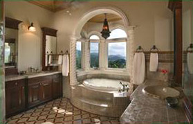 St John Villa Kismet Master Bathroom with Views