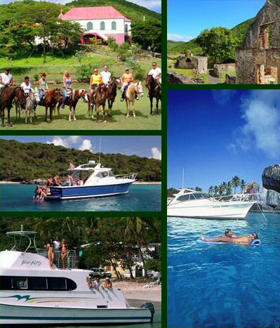 Activities on St John USVI Horseback Riding in Coral Bay, hiking Annaberg,