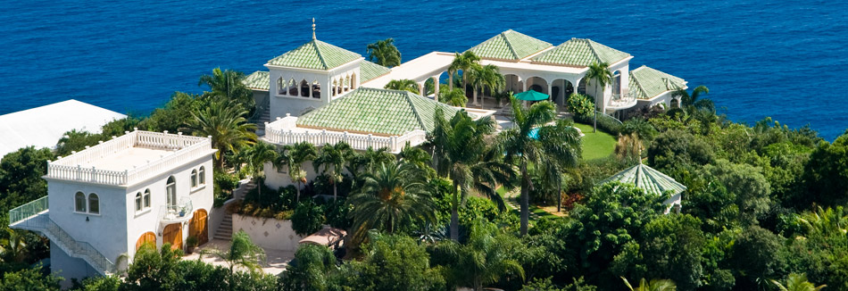 St John Villa Aerial Photo